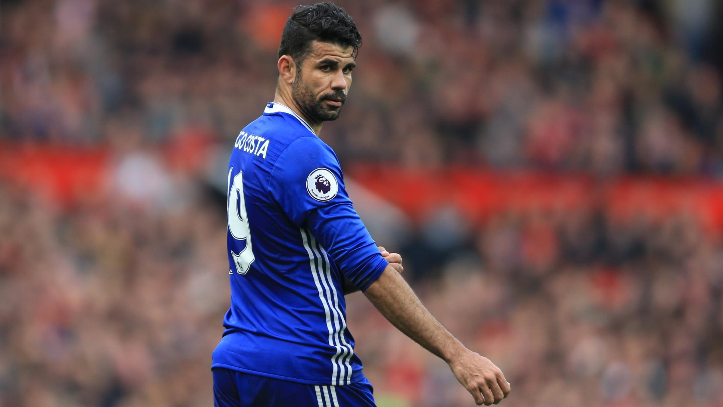 Diego Costa pushes Atletico move