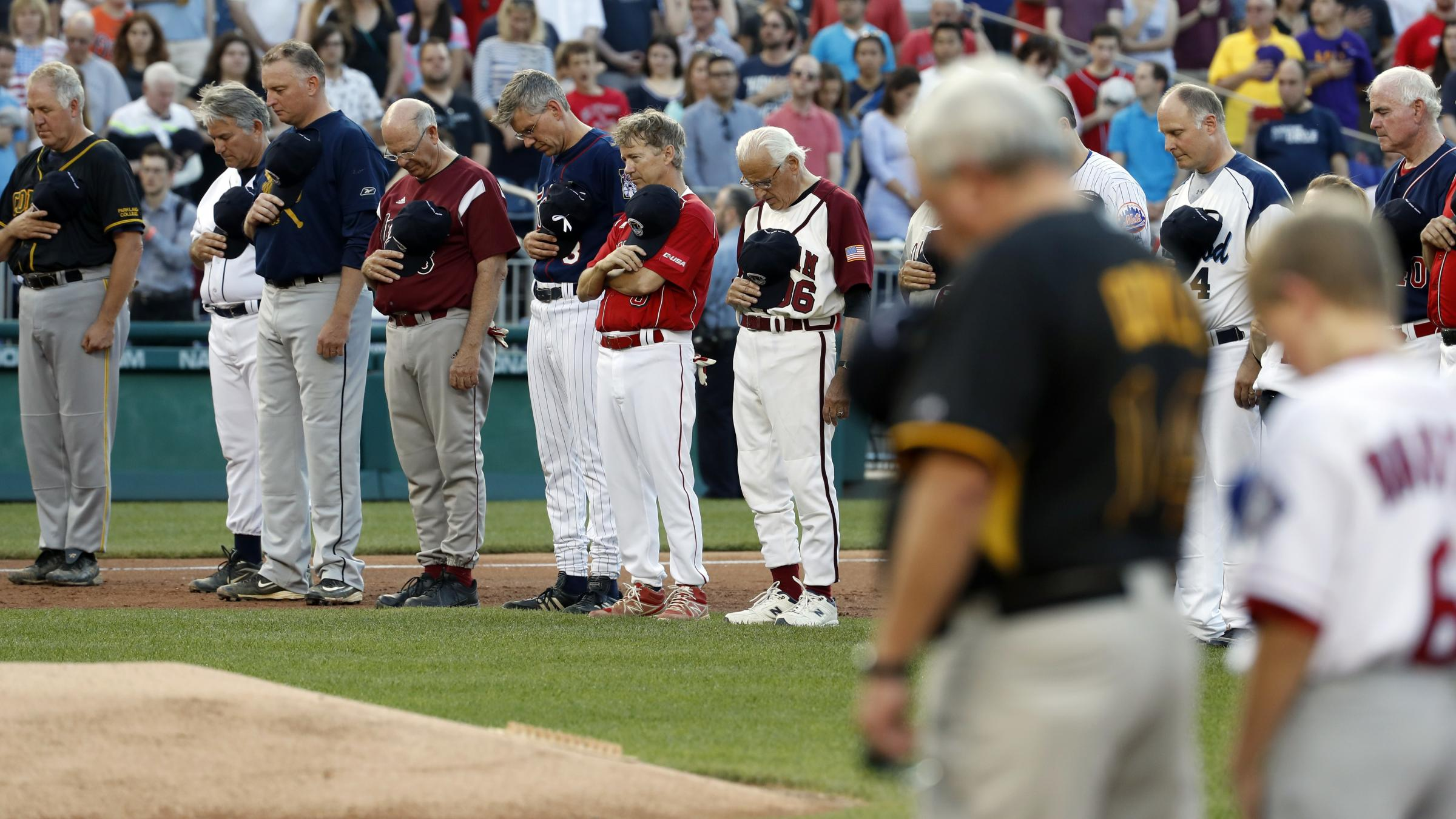 Donald Trump: Steve Scalise 'in some trouble' after baseball field shooting