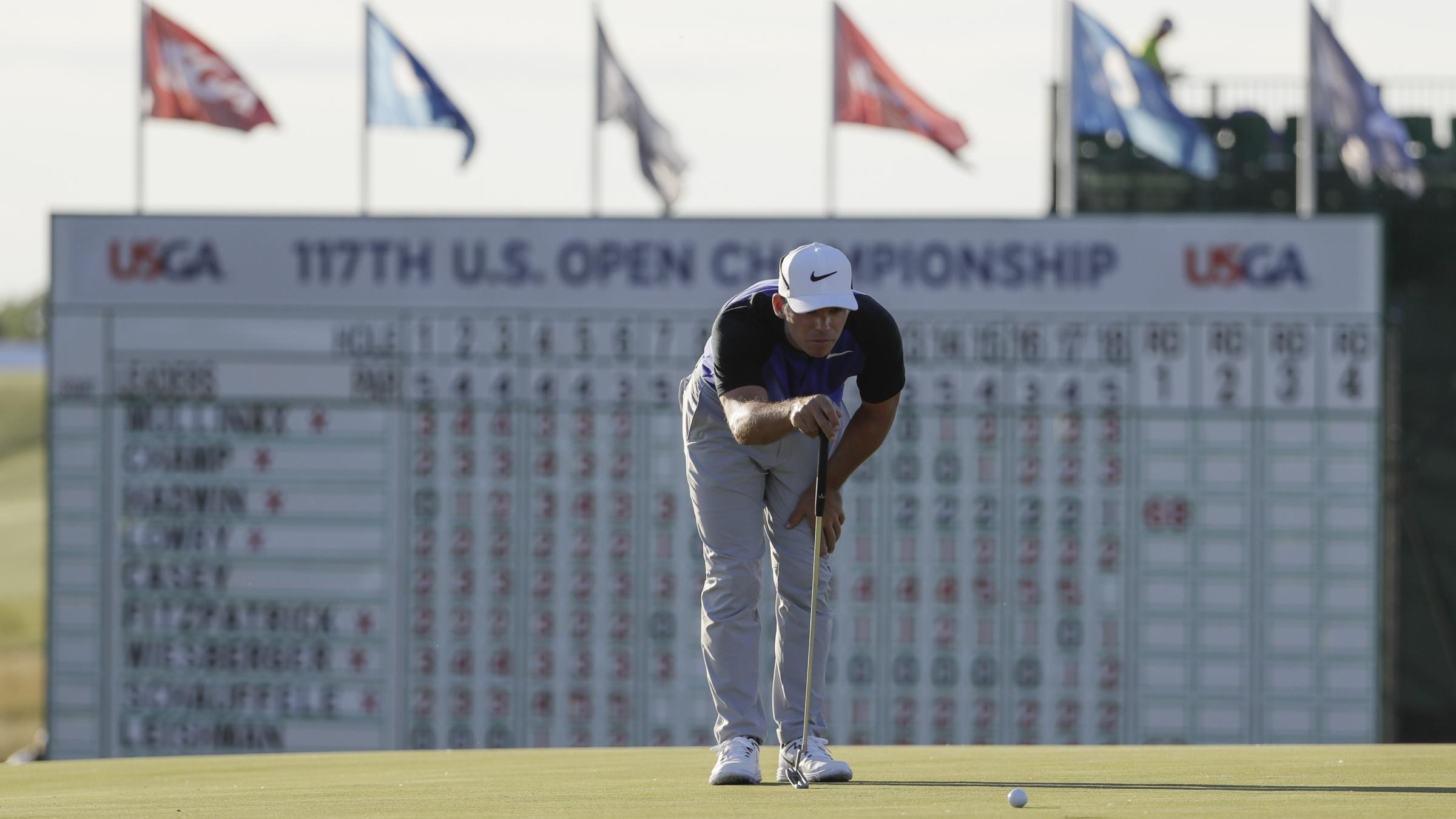 McIlroy, Day try to make up ground at US Open