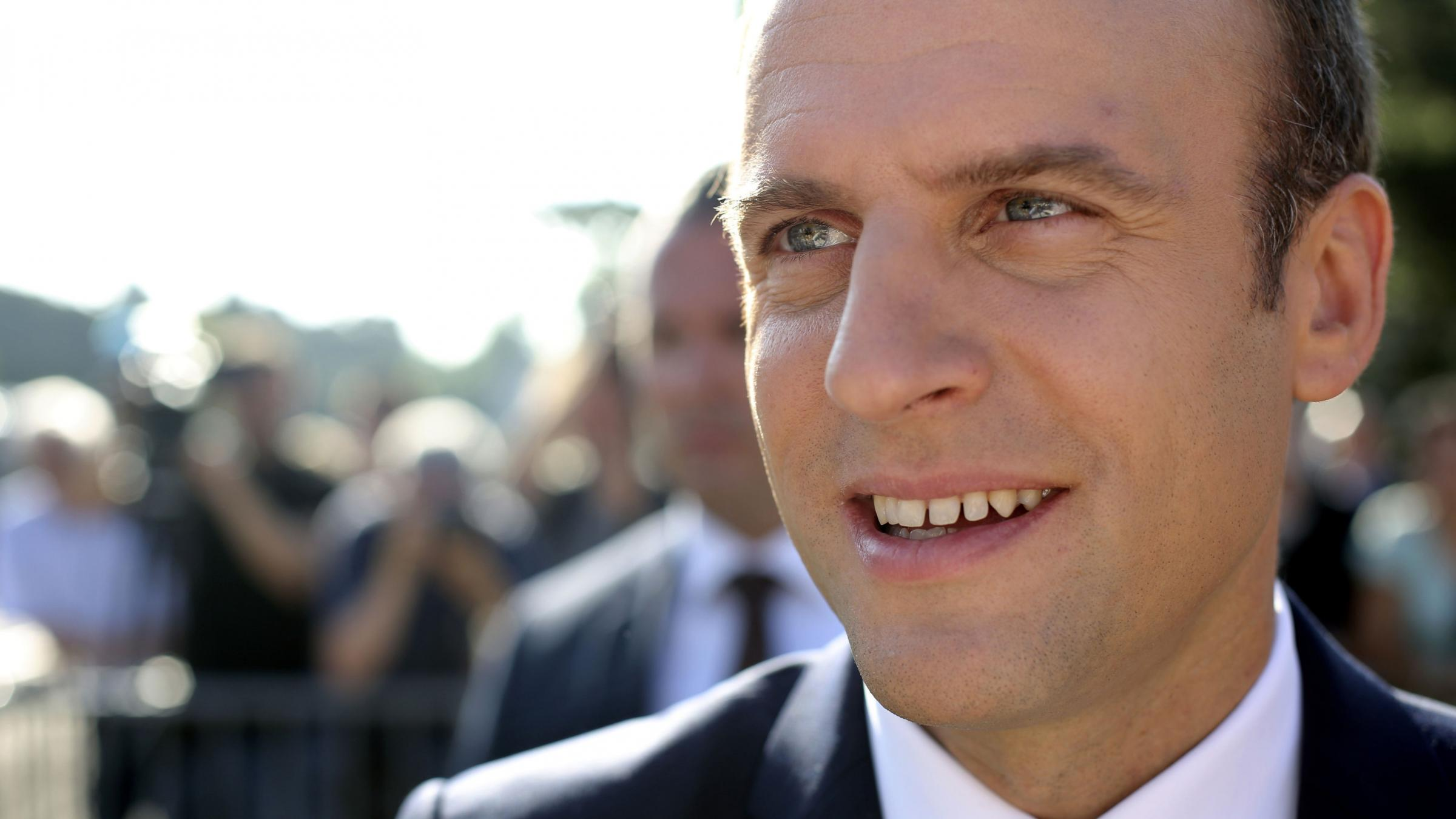 French polls predict Macron's party will secure large majority